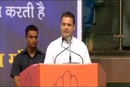 Girls Could Be Raped, Dalits Threatened But Modi Only Interested in Being PM Again: Rahul Gandhi