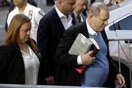 Harvey Weinstein Surrenders Before New York Police Over Rape, Sexual Assault Charges