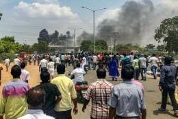 11 Killed in Police Firing During Violent Protests Against Sterlite in TN; CM Says 'Cops Forced to Fire'