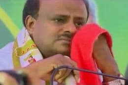 Be Courageous, Congress Tells Kumaraswamy After His Emotional Outburst Over 'Pain of Coalition Govt'