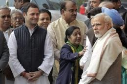 No Pleasantries Exchanged as PM Modi, Rahul Attend Parliament Event After Poll Results