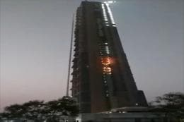 Fire Breaks Out in Kolkata's Tallest Building 'The 42' Near Park Street