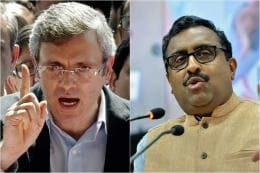 I Take Back My Comment, Says Ram Madhav After Omar Abdullah's Dare to Prove Pakistan Charge