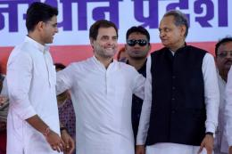 Congress Ka Kamal Blooms in MP But Rahul Gandhi Still Has to Make a Tough Choice in Rajasthan