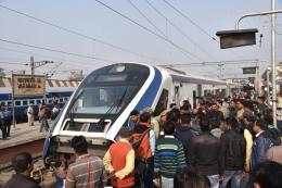 Vande Bharat Express Hit by Flying Ballast; Windows, Driver's Windscreen Damaged