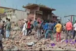 10 Killed in Explosion at Shop in Uttar Pradesh's Bhadohi, Several Feared Trapped in Debris