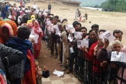 Phase 2 Records 66% Turnout Even as IED Blast, Police Firings, Mob Attacks and EVM Glitches Mar Voting