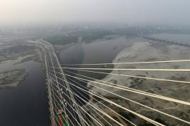 Signature Bridge: India's First Asymmetrical Cable-Stayed Bridge