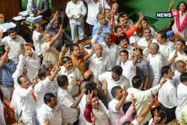 Karnataka Crisis: Kumaraswamy Govt Falls After Congress- JD(S) Coalition Loses Trust Vote