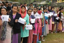 Assembly Polls: 75 Per Cent Polling in Nagaland, 67 in Meghalaya