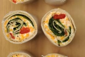 Recipe Alert: Spinach-Feta Wrap to Try this Weekend