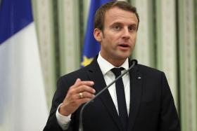 French Air Strikes on Syria Not a Declaration of War, Says President Macron