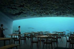 Europe's First Underwater Restaurant Surfaces in Norway