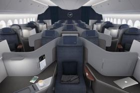 Lufthansa Unveils New Business Class Cabin With Seats That Can Extend Into Beds