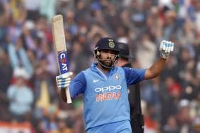 Rohit Sharma Joins Elite List With Second T20I Ton in Indore