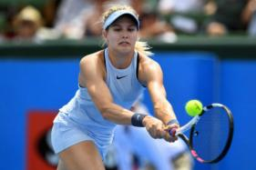 Eugenie Bouchard Claims First Win of the Year at Kooyong Classic