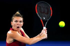 Brand-less, Slam-less Simona Halep Looks for More in 'Lucky' Dress at Australian Open
