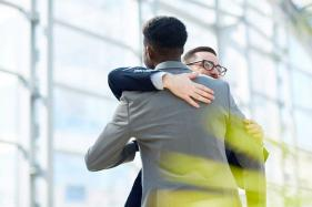Feeling Positive? Then You'll Probably Hug Someone From The Left