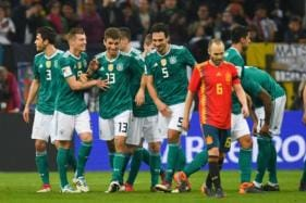 Thomas Mueller Bails World Champions Germany Out Against Spain