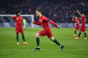 Cristiano Ronaldo Brace Saves the Day, Steals Mohamed Salah's Thunder