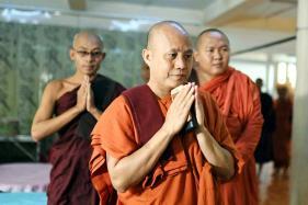 Myanmar Monk Wirathu Returns to Preaching After Ban, Denies Fueling Rakhine Violence
