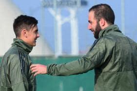 Juventus Strike Duo Dybala and Higuain Ready to Face Tottenham
