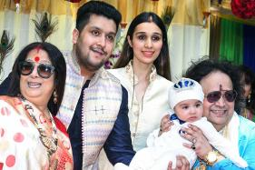 Bappi Lahiri Hosts Annaprashan Ceremony of His Grandson Krishh