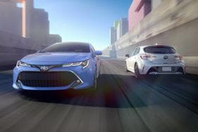 All-New 2019 Toyota Corolla Hatchback to Debut in New York Auto Show
