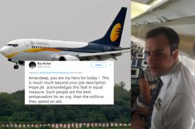 Twitter Lauds Jet Airways Crew Member Who Came to the Rescue of a Passenger Fighting for his Life