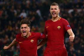 Champions League: Dzeko Sends Roma Into Quarter-finals