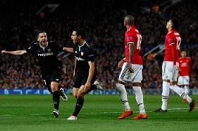 Champions League: Sevilla Stun Manchester United to Enter Last 8