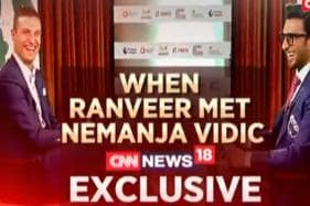 Watch | Ranveer Singh Interviews Manchester United Legend Nemanja Vidic