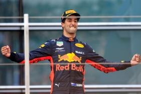 Daniel Ricciardo Savours 'Shoey' After Storming to Sensational Chinese GP Win