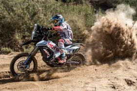 Hero MotoSports Team Rally Makes a Strong Start at Merzouga Rally 2018