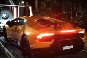 Lamborghini Huracan Performante Worth Rs 3.76 Crore Home Delivery in Hyderabad - Watch Video