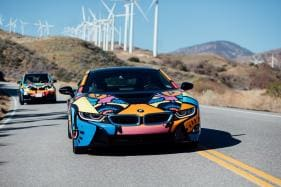 BMW i8 and i3 Gets Exclusive Paint Job for Coachella Valley Music and Arts Festival 2018 [Video]