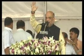 Amit Shah Rally LIVE: BJP Chief Launches Scathing Attack on Congress in Gandhi Family Bastion