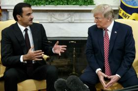 Donald Trump Welcomes Qatari Emir in from the Cold