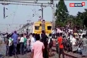 Watch: Protests Against Kathua, Unnao Rapes Disrupt Rail, Road Traffic in Bengal