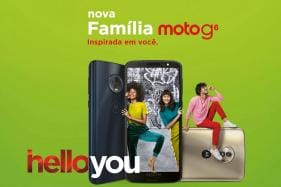Moto G6, Moto G6 Plus, Moto G6 Play Launched: Price, Specifications And More