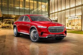 Vision Mercedes-Maybach Ultimate Luxury Concept Crossover Unveiled Ahead of Debut