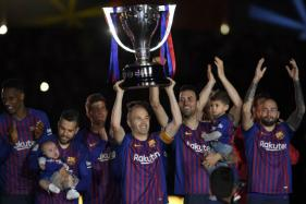 Andres Iniesta Bows Out With Barcelona Win Thanks to Brilliant Philippe Coutinho Strike