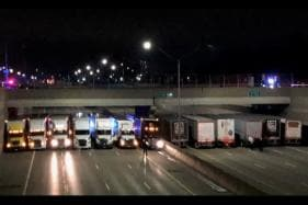 Michigan State Police Takes Help from 13 Truckers to Avoid Suicide on Highway