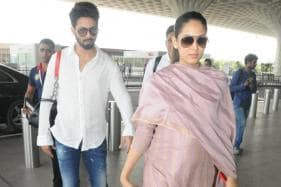 Mira Rajput Flaunts Baby Bump as She Leaves For Delhi With Shahid