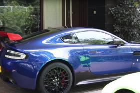 Bangalore Based Indian Millionaire Adds Aston Martin V12 Vantage AMR Worth Rs 5 Crore to Garage - Watch Video