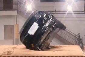 Watch Tesla Model X Fails to Rollover 3 Times in Safety Crash Test [Video]