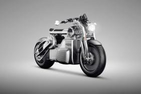Curtiss (Confederate) Zeus Prototype All-Electric Motorcycle - Image Gallery