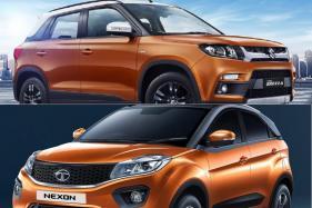 2018 Maruti Suzuki Vitara Brezza AGS Vs Tata Nexon AMT Spec Comparison - Price, Mileage and More