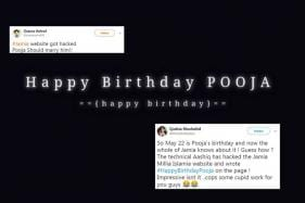 Jamia Millia Islamia University's Website Hacked for 'Pooja's Birthday', Twitter Joins the Party