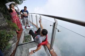 In Pictures: China's Most Terrifying Tourist Attractions